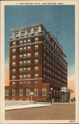 New Bedford Hotel Postcard