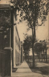 Memorial Field Stand, Dartmouth College Postcard