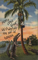 Honey, Come Down, We'se Waiting For You in Florida