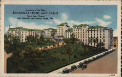 Kingsway Hotel and Baths Postcard