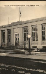 Entrance, United States Post Office Postcard
