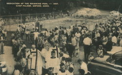 Dedication of the Swimming Pool, 1957, Camp Palmer