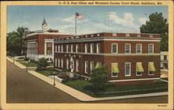 U. S. Post Office and Wicomico County Court House