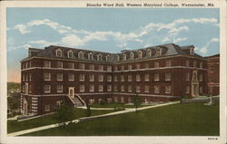 Blanche Ward Hall, Western Maryland College