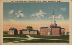 Men's Dormitories and Miller Library, Colby College