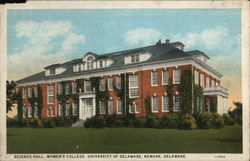 Science Hall, Women's College, University of Delaware