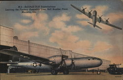 Bell-Built B-29 Superfortress Leaving the Factory Assembly Line, Bell Bomber Plant