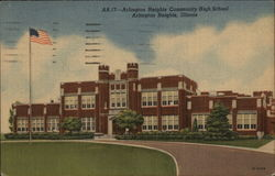 Arlington Heights Community High School Postcard
