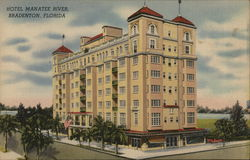 Hotel Manatee River Postcard