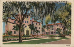 Pugsley and Mayflower Halls, Girls' Dormitories, Rollins College