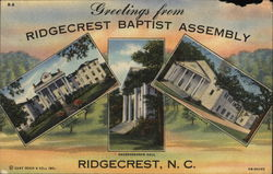 Greetings from Ridgecrest Baptist Assembly