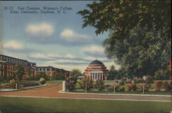 East Campus, Women's College Postcard