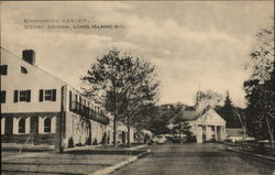 A Community Center on Long Island Postcard