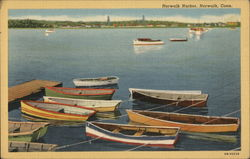 Norwalk Harbor Postcard