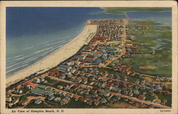 Air View of Hampton Beach
