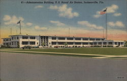 Administration Building, US Naval Air Station