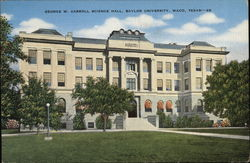 George W. Carroll Science Hall, Baylor University