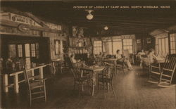 Interior of Lodge at Camp Aimhi