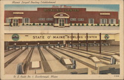 State O'Maine Bowling Center