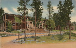 Grand Lake Lodge Postcard