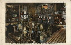 Interior, Pahaska Tepee, Buffalo Bill Museum