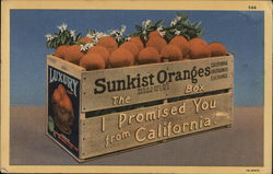 Sunkist Oranges: The Box I Promised You From California