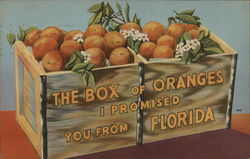 The Box of Oranges I Promised From Florida