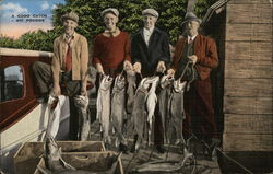 A Good Catch - 401 Pounds - Four Fishermen