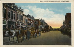 89ers Parade on Oklahoma Avenue Postcard