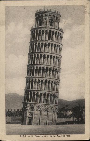 Leaning Tower of Pisa - II Campanile della Cattedrale