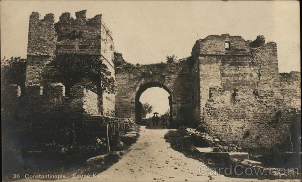 Constantinople edirne Kapou