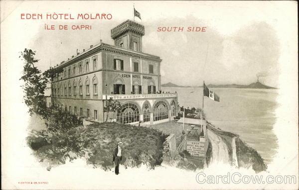 Eden Hotel Molaro Ile de Capri