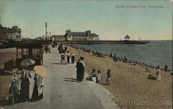 South Parade Pier, Southsea Portsmouth England Hampshire