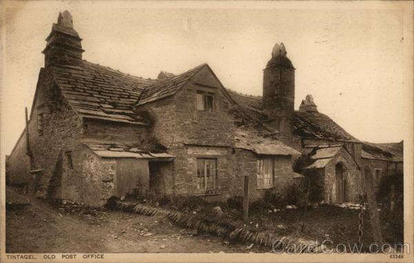Old Post Office Tintagel United Kingdom Cornwall