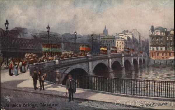 Jamaica Bridge Glasgow Scotland