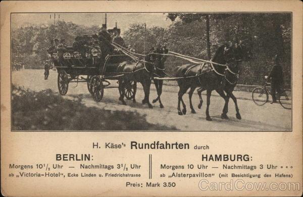 Rundfahrten - Berlin Hamburg