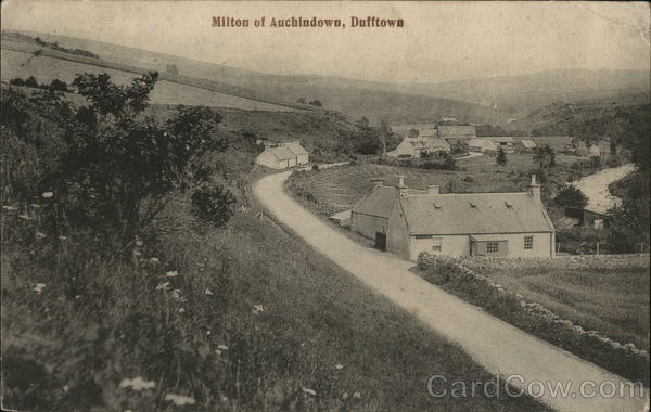 Milton of Auchindown, Dufftown Scotland