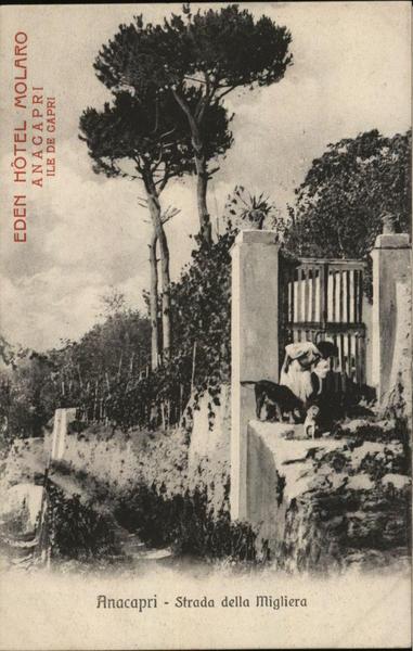Strada della Migliera - Eden Hotel Molaro