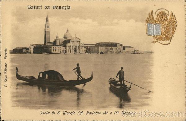 Saluti da Venezia/Greetings from Venice - Isola di S. Giorgio/St. George Island