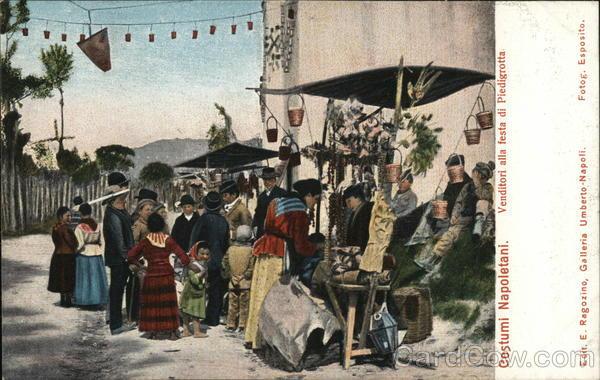 Vendors, Party of Piedigrotta