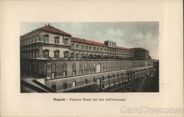 Palazzo Reale dal lato deli Arsenale