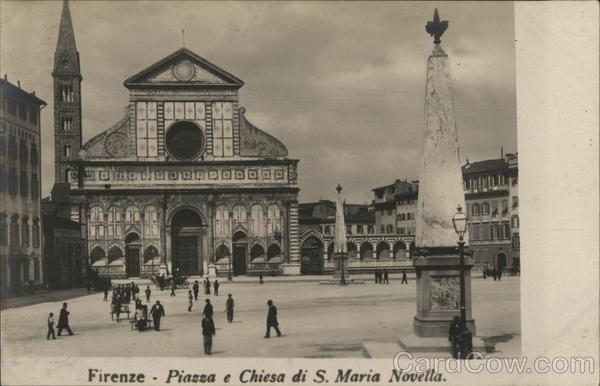 Piazza e Chiesa di S. Maria Novella