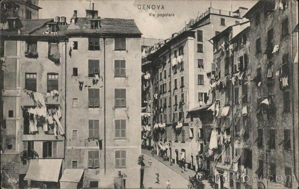 Genova Via popolare