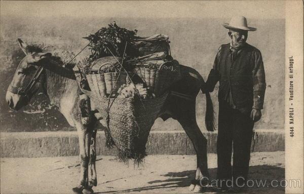 Venditore di erbaggi / Naples - Herb Seller