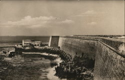 An old fort in Mozambique Postcard