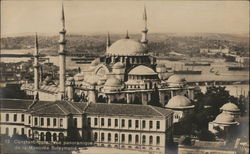 Panoramic view of Suleiman's Mosque