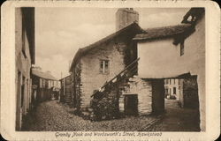 Grandy Nook and Wordsworth's Street Postcard