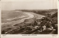 Sandsend from Lythe Bank Postcard