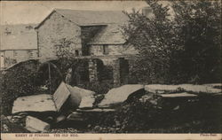Old Mill Beckside Postcard