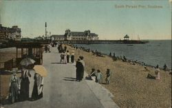 South Parade Pier, Southsea Postcard